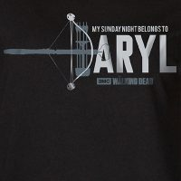 The Walking Dead Daryl Dixon Ladies Shirt