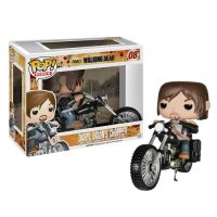 The Walking Dead Daryl Dixon with Chopper Pop Vinyl Vehicle