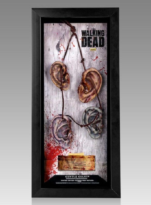 The Walking Dead Daryl Dixons Walker Ear Necklace