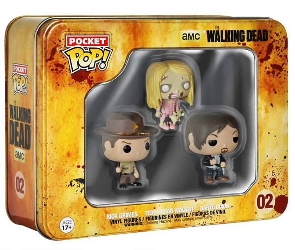 The Walking Dead Funko Pop Tin