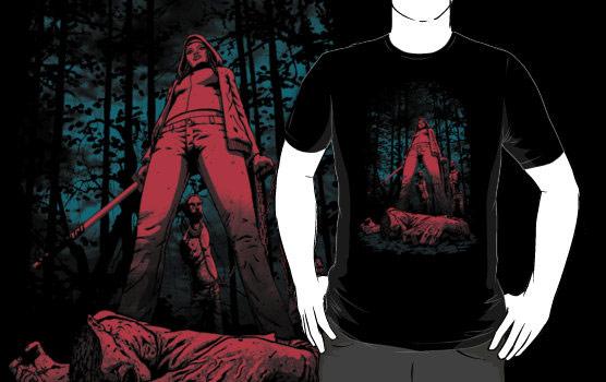 The Walking Dead Huntress TShirt