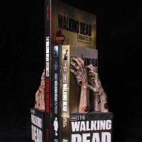 The Walking Dead Logo Bookend