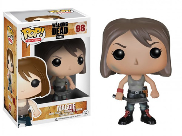 The Walking Dead Maggie Greene Pop Vinyl Figure