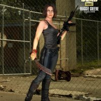 The Walking Dead Maggie Statue