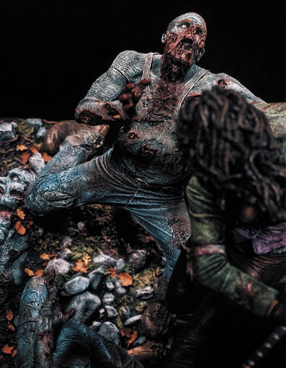 The Walking Dead Michonne Resin Statue