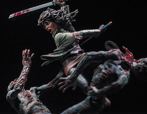 The Walking Dead Michonne Resin Statue