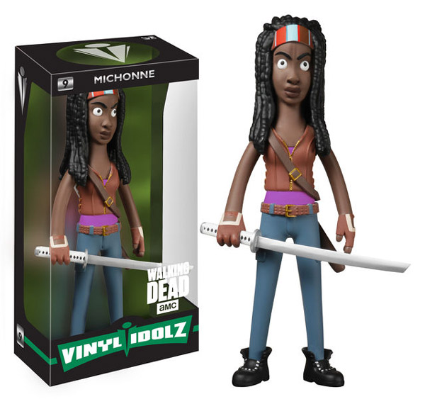 The Walking Dead Michonne Vinyl Idolz Figure