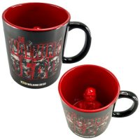 The Walking Dead Molded Zombie Inside 20 oz Ceramic Mug