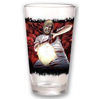 The Walking Dead Rick Comic Pint Glass