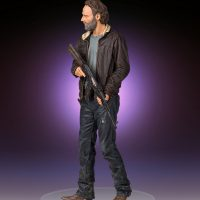 The Walking Dead Rick Grimes Statue