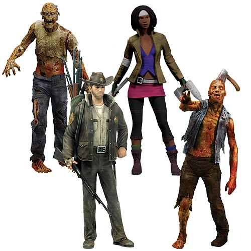 The Walking Dead Series 1 Action Figure Set