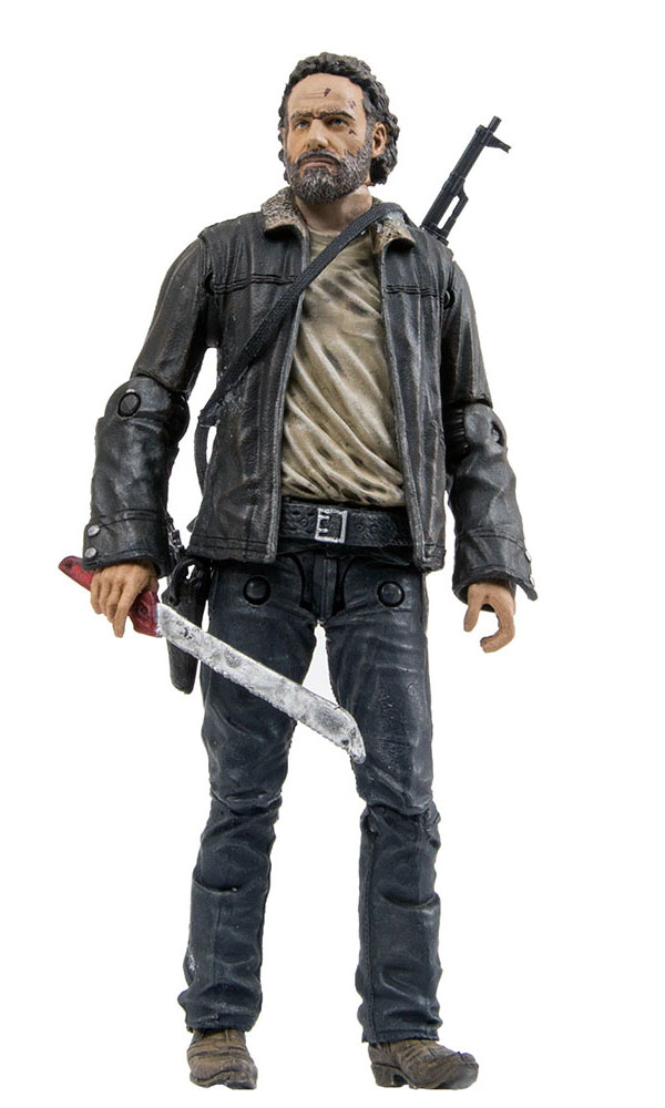 The Walking Dead Series 8 Rick Grimes Action Figure
