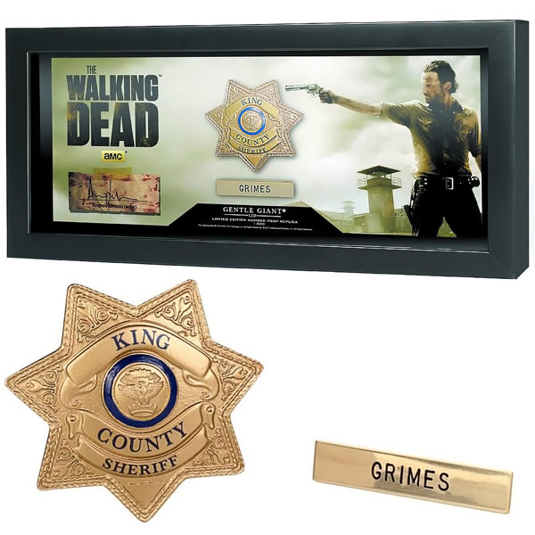 The Walking Dead Sheriff Grimes Badge