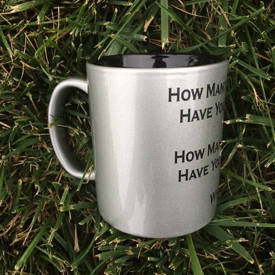 The Walking Dead Three Questions Mug