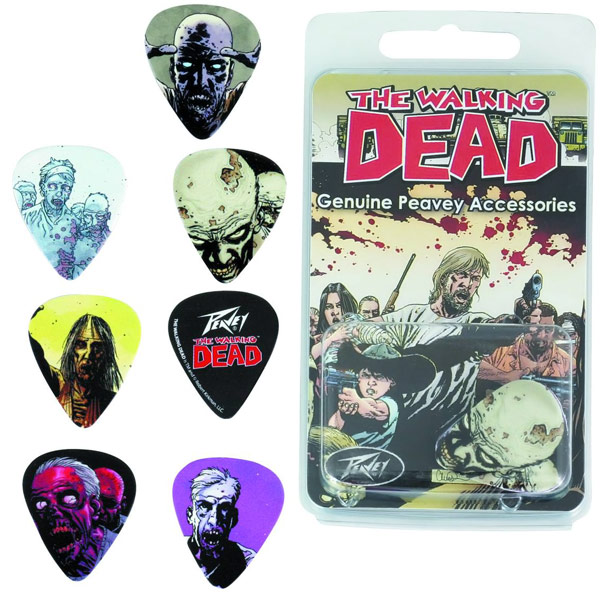 The Walking Dead Zombie Guitar Picks