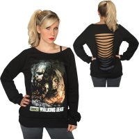 The Walking Dead Zombie Poster Sweatshirt