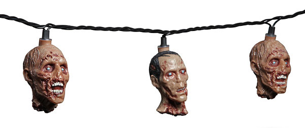 The Walking Dead Zombie String Lights