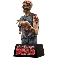The Walking Dead Zombie Vinyl Bust Bank