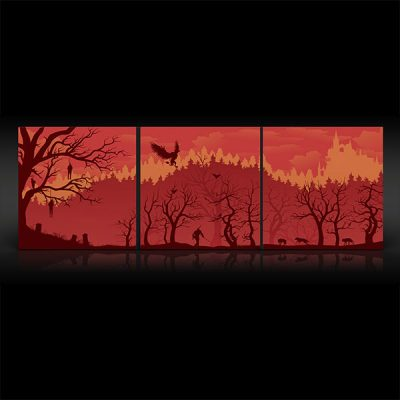 The Witcher 3 Original Game Soundtrack Deluxe 4LP Set - Exclusive