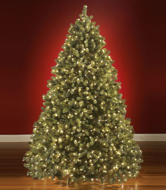 the worlds best prelit douglas fir - Prelit Led Christmas Trees