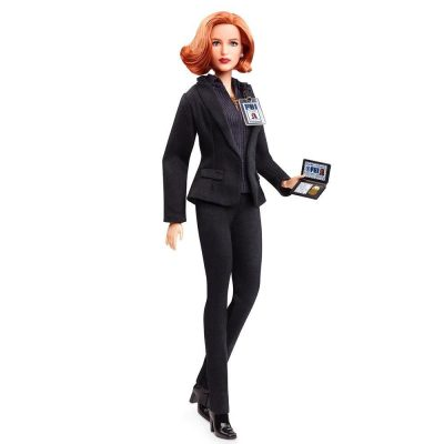 The X Files Scully Barbie Doll