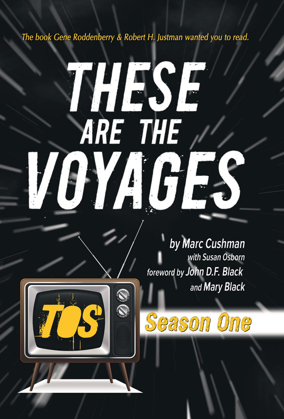 These are the Voyages Star Trek Hardcover Book