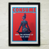 They Live Kardashian Art Print