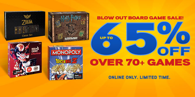 Think Geek Board Games Sale