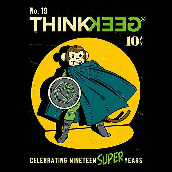 ThinkGeek 19th Anniversary T-Shirt
