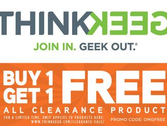 ThinkGeek BOGO Clearance Products