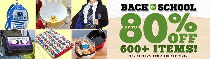 ThinkGeek Back to School Sale
