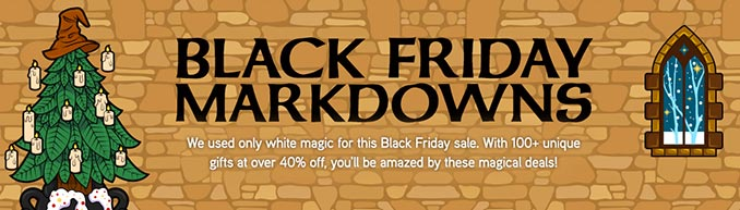 ThinkGeek Black Friday Markdowns 2018