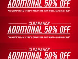 ThinkGeek Clearance Promo Code
