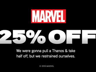 ThinkGeek Sale: 25% Off Marvel Merchandise