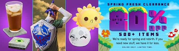 ThinkGeek Spring Clearance Sale