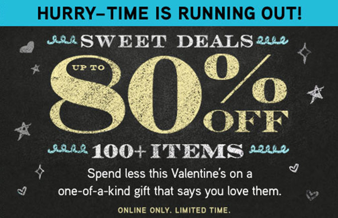 ThinkGeek Valentines Day Sale