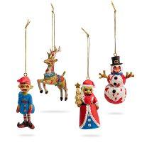 ThinkGeek Zombie Ornament Set