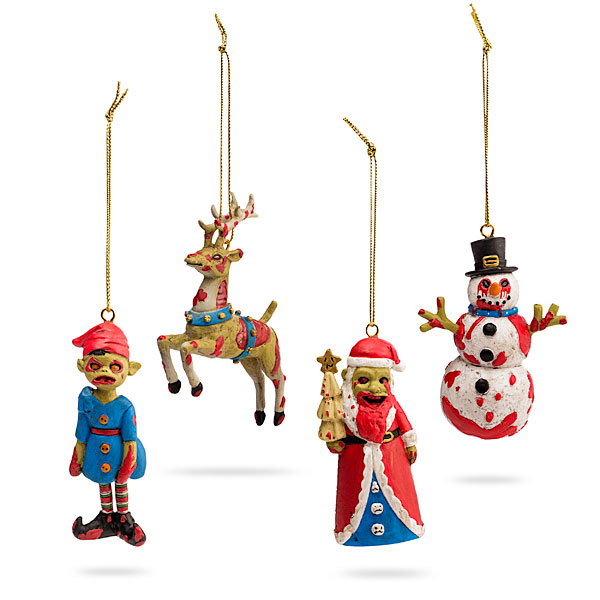 ThinkGeek Zombie Ornament Set