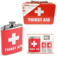 Thirst Aid Kit Flask Kit