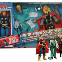 Thor 8-Inch Retro Action Figure Set