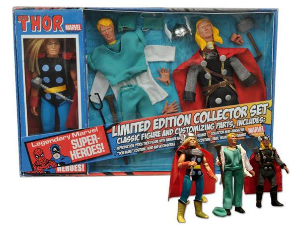 Thor 8-Inch Retro Action Figure Set