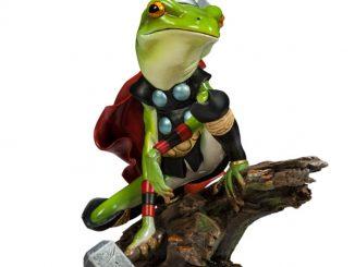 Thor Frog Diorama
