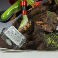 Thor Frog Diorama Hammer