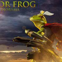 Thor Frog Diorama Scene