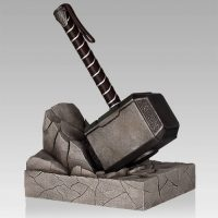 Thor Hammer Bookends