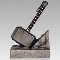 Thor Hammer Single Bookend
