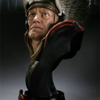 Thor Life Size Bust Side View