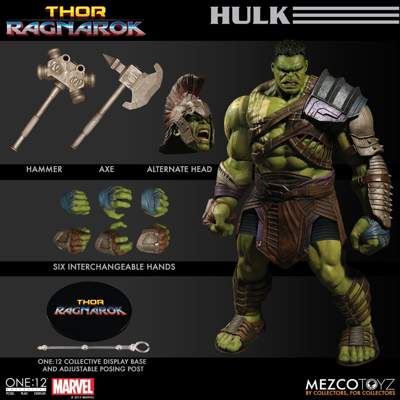 Thor Ragnarok Gladiator Hulk One 12 Collective Action Figure