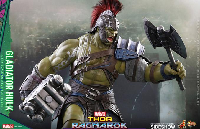 Thor Ragnarok Gladiator Hulk Sixth Scale Figure