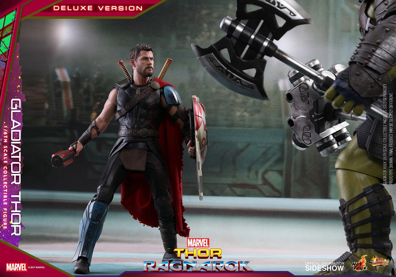 Thor Ragnarok Gladiator Thor Deluxe Version Sixth Scale